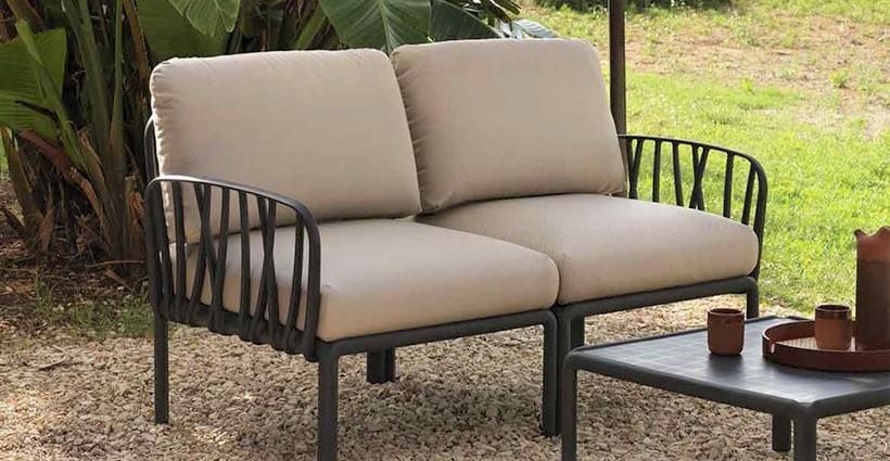 divano esterno metallo lecce salento